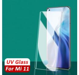 Kính cường lực xiaomi Mi 11 UV chính hãng, dán cường lực full màn hình xiaomi mi 11 5g uv